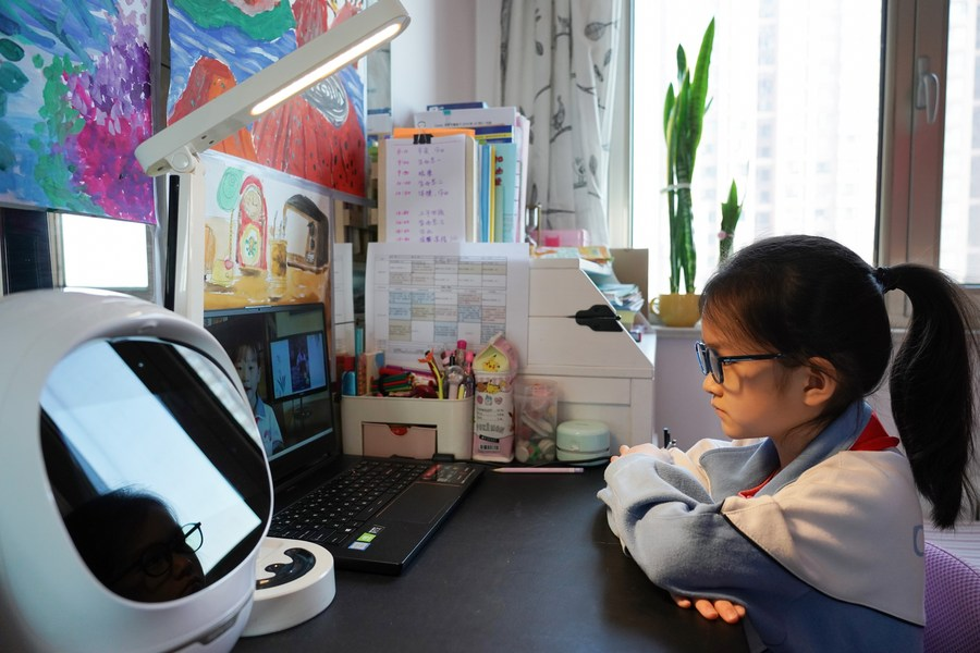Survey shows many Chinese deem telecommuting the future of work