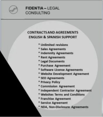 I will draft legal contracts, service agreements,privacy policy, nda and more