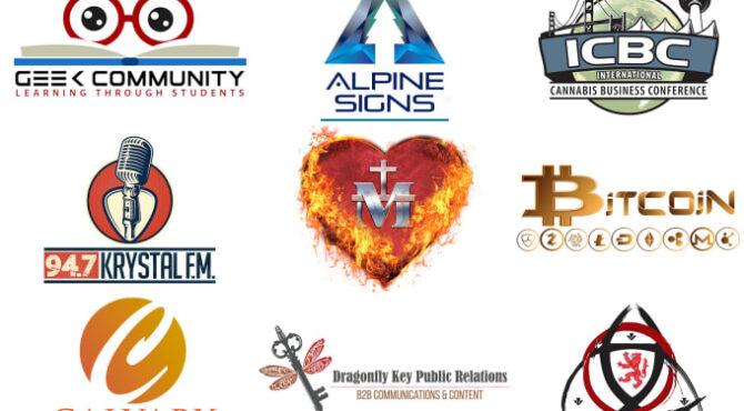 I will design a custom business logo