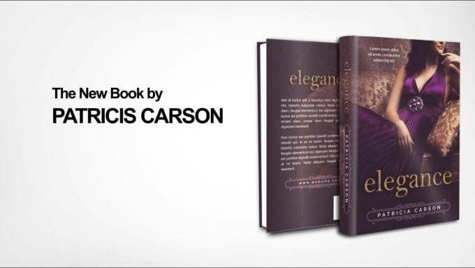 I will make an unique 3d book promo or trailer video
