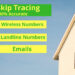 I will give real estate skip tracing service