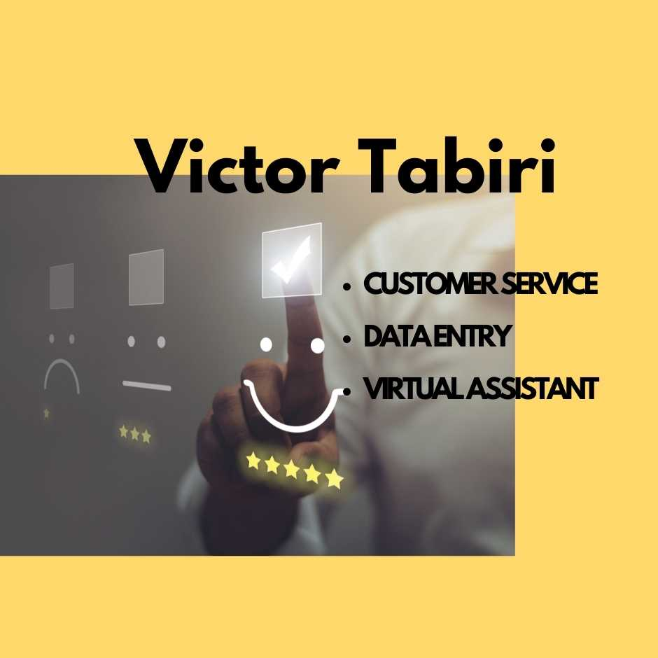 3 hours Customer Service or Assistant or Data Entry